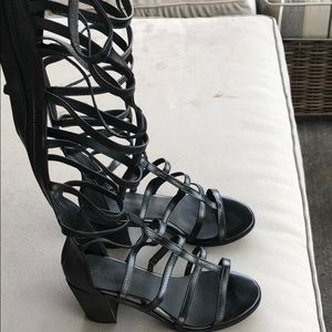eae62bcf6b1 shoespie Shoes - High Shaft Chunky Heel Gladiator Sandals